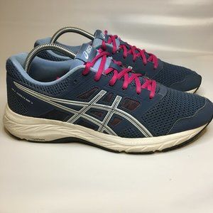 ASICS GEL-Contend 5 Running Shoes Navy Size 10